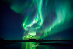 Out there (Valeria Sig) Tags: iceland auroraborealis nature landscape