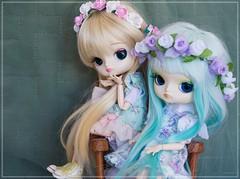 Mush & Ploy (Pliash) Tags: dal doll cute kawaii magical pink chan pullip groove family asian japanese fashion dolls alimento pessoas na foto cinnamoroll