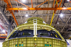 Crew Module Exploration Mission 2 (Wilson Lam {WLQ}) Tags: red nasa michoudassemblyfacility neworleans pegasus orion sls spaceexploration