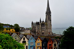 Catedral de Cobh (Cork) (Heleplatas) Tags: cathedral catedral ireland sea port titanic cork cobh