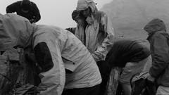 Preparing for bad mountain weather Ortler mountain (RogierChang) Tags: berge bergsteigen europa tirol urlaub alpen wanderweg schnee wanderung bergtour tal dolomiten bergtouren abenteuer wanderurlaub familienurlaub wanderwege htten wandern montaas senderismo vacaciones al aire libre alpes ruta de nieve montaismo caminata valle dolomitas mountain mountains hiking europe tyrol vacation outdoor alps trail snow mountaineering hike valley dolomites adventure holiday family trails huts sport landscape black white bad weather