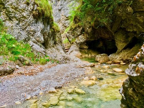 Gießenbachklamm near Kiefersfelden, Bavaria, Germany