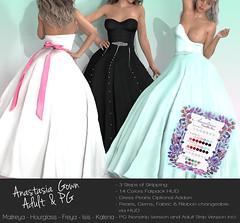 Vanilla Bae ~ Anastasia Wedding Dress Vendor (Hopey Honi in SL) Tags: maitreya slink katena hourglass isis freya belleza vanillabae trunk h