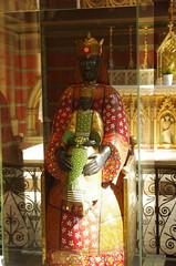 JLF19704 (jlfaurie) Tags: organ organo vitrales hautevienne limousin pentaxk5ii cathédrale vitraux saintetienne limoges mpmdf virgennegra blackvirgin taintedglass jlfr viergenoire mechas