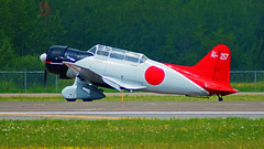 """Aichi D3A """"Val"""", Duluth Air and Aviation Expo 2010, 07/17/10 (TonyM1956) Tags: elements sonyalphadslr sonyphotographing tonymitchell"""