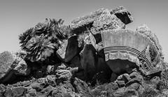 Disjecta membra (ascholtz101) Tags: 2018 adobelightroomclassiccc agrigento agrigentum akragas andrewscholtz europe greektemple italia italy nikcollection nikond7200 sicilia sicily sigma150600mmf563dgoshsm silverefexpro templeofzeus valledeitempli valleyofthetemples ascholtz101 bw biancoenero bianconero blackwhite blackandwhite daylight debris doricorder dyone landscape mono monochromatic monochrome outdoors outside rock rocks stone stonefragments stones summer travel