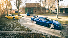 The Squad (Sam Moores Photography) Tags: 2017 moores photography sam f40blu f40 blu blue ferrari porsche gt3rs gt3 rs supercar aqua classic 911 autofarm 1973 1978 sc bicester