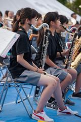 wind orchestra girl #8 (kasa51) Tags: schoolgirl windorchestra summerfestival portrait ブラバン少女 people street