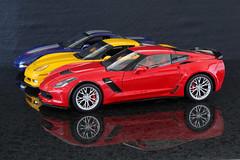 6U8A5797 (Alex_sz1996) Tags: autoart 118 chevrolet corvette c7 z06 c6 c5 commemorative edition