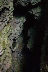 This messes with my perception when I turn it ninety degrees (Brendan Adkins) Tags: croatia island lenstagged canonefs24mmf28stm canon24mm canonpancake cave shadows rock bluegrotto