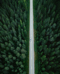 suora (miemo) Tags: dji europe finland mavic mavicpro aerial car countryroad countryside drone forest landscape nature road straight summer symmetrical topdown trees juuka northkarelia fi