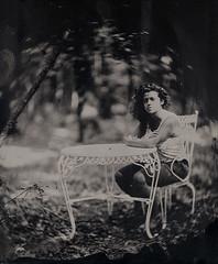 Daniela tiintype (Giorgio Bordin) Tags: altprocesses wet plate collodion tintype aluminum dallmeyer petzval