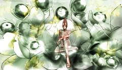 Red Ant - Garden Pest (tralala.loordes) Tags: eve evesitflowermoon evenoctilucaflower anniversary secondlife sl virtualreality vr tralalaloordes slfashionblogging slmeshcreations azoury spcatlady fireant gardenpest garden imaginationflowers