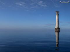 Bishop rock lighthouse (dieLeuchtturms) Tags: leuchtturm grosbritannien meer europa wasserspiegelung scillyisles atlantik 4x3 keltischesee cornwall england bishoprock celticsea europe greatbritain waterreflections lighthouse reflection sea waterreflection vereinigteskönigreich gb