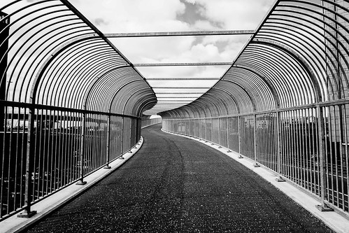 Bridge to Nowhere - Anderston Footbridge