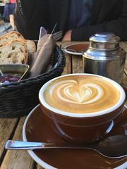Wochenende und Sonnenschein.... (bornschein) Tags: cup moulu foodporn food frühstück cappuccino café coffee germany stuttgart
