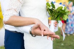 Wedding rings (Andrew Goldman) Tags: wedding bride wife husband love together journey amazing day life happy rings flowers hands nice