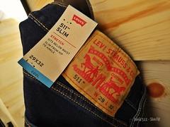 Levi's 511 Slim Fit Cut (radi0head pix'el) Tags: jeans levis511 511 levis bluejeans unlimitedphotos photos flickrcentral klflickr flickr levistrauss since1873 random misc etc apparel pants cool stretch
