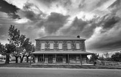 Life in Mono (Keith Midson) Tags: tunbridge tasmania building architecture heritage clouds sigma 1224mm