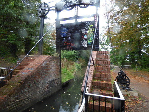The Kings Norton Guillotine Lock - Stratford-on-Avon Canal