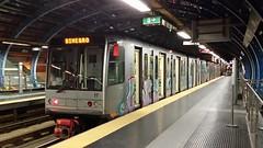 AMT treno 17 (Lu_Pi) Tags: amt genova metropolitana metropolitanadigenova metropolitanaleggera brinmetrò dinegro servizioserale ansaldosts ansaldo firema trenometropolitana trenodi2generazione treno