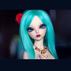 Deri (♠Einwegherz♠) Tags: abjd bjd balljointeddoll minifee mnf rheia fairyland fairylandbjd msd slim mini girl