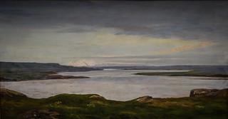 Thorarinn Thorlaksson - Landscape, 1910 at Reykjavík Art Museum Kjarvalsstaðir Reykjavik Iceland