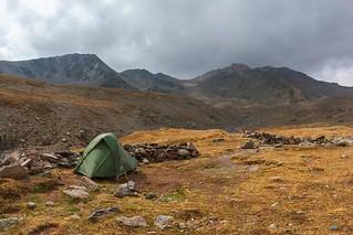 Camping in Tschkheri Valley