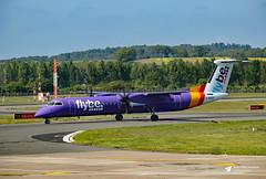 G-KKEV de Havilland Canada DHC-8-402 Dash 8, flybe, Edinburgh Airport, Edinburgh, Scotland (Kev Slade Too) Tags: gkkev dehavillandcanada dhc8 dash8 flybe egph edinburghairport edinburgh scotland