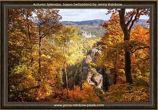 Autumn Splendor. Saxon Switzerland