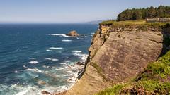 CFR7361 Cabo Busto (Carlos F1) Tags: nikon d300 principadodeasturias asturias turismo turista tourism sightseeing cabobusto cabo busto cliff acantilado spain landscape paisaje water agua mar sea rock roca