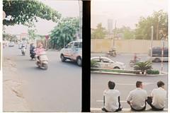 000041 (jovenjames) Tags: 2017 diptych olympus pen eed fujicolor 100 analog saigon vietnam hcmc broken camera snapshots