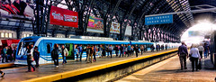 Los trenes paran aqui (Miradortigre) Tags: tren train station gare bahnhoff estacion ferrocarril railway retiro buenos aires argentina city ciudad cite cita stadt