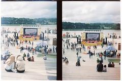 000066 (jovenjames) Tags: 2017 vietnam yashica electro 35 gx kodak vision3 500t diptych olympus pen ees2 light leaks analog film snapshots dalat