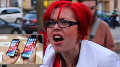 Feminists Rage Over Latest Injustice: Sexist iPhones (smctweeter) Tags: after apple created feminists iphone large sexistly spitting that tiny