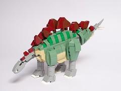 LEGO Stegosaurus v1.1 (LuisPG2015) Tags: