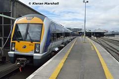 3012+3019 at Connolly, 2/8/18 (hurricanemk1c) Tags: railways railway train trains irish rail irishrail iarnród éireann iarnródéireann 2018 northernirelandrailways nir caf class3000 c3k 1120dublinconnollybelfastcentral 3012 dublin connolly