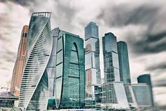 #Moscow #City #Drama (NO PHOTOGRAPHER) Tags: hochhaus gebäude cityscape skyline detail construction blackandwhite monochrome architecture architectural urban building outdoor iphoneography iphonephotography exterier russia moscowcity technoart sky clouds moscowphotography blue panorama panoramatic light shade dark shadow city geometric lookingup window skycraper iphone 6s skycrapers aboutlove analogy freestyle fineart blackandwhitephoto monochromephotography москва россия архитектура строительство река мост