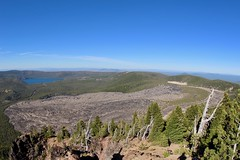Newberry is an loner volcano (daveynin) Tags: oregon newberry peak caldera