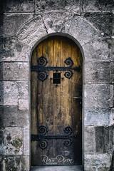Old Door (Russ Dixon Photography) Tags: russdixon russdixonphotography door doorway portal fujixe2 budapest europe hungary