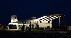 Amelia Island's New Airport Terminal (www.yashicasailorboy.com) Tags: building terminal ameliaisland fernandinsbeach florida corsair f4u ww2 navy