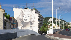 Marylin Monroe is watching Cannes (Dawid Tokarz) Tags: cannes france riviera hotel marylin monroe art cinema french travel film sony ilce a6000