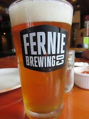 Fernie Brewing Co. IPA (jamica1) Tags: glass mug beer village idiot pub revelstoke bc british columbia canada