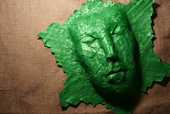 Naiad by Joel Cooper (Artemiy Nikitin) Tags: naiad joelcooper paper tissue foil origami tesselation mask