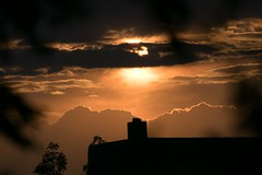 One Sunset (Anna Gurule) Tags: sunset clouds cloudyskies beautiful evening eveningclouds artedgy annagurule annaortizgurule newmexico nature nmskies