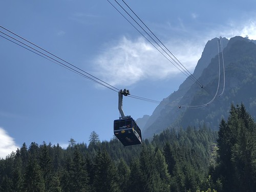 The Zugspitz cable car