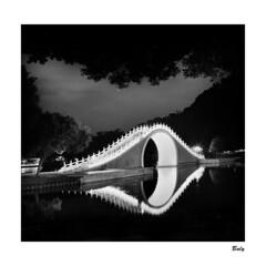 201809-2 大湖公園。夜 Taipei (BALY WU) Tags: hasselblad cx 60mm f35 zeiss hp5 lc29 119 cf