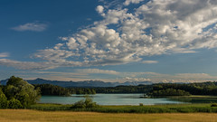 Osterseen (hjuengst) Tags: osterseen starnbergersee lake alps mountain clouds bavaria bayern iffeldorf seeshaupt