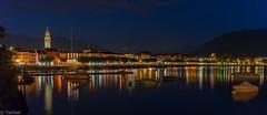 Ascona (Tschissl) Tags: nacht switzerland longexpose schweiz ticino tessin see