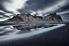 Vestrahorn Islande (EtienneR68) Tags: a7r2 a7rii iceland islande montagne reflection reflet sea sony vestrahorn eau landscape longexposure mer mountain nature paysage travel voyage water